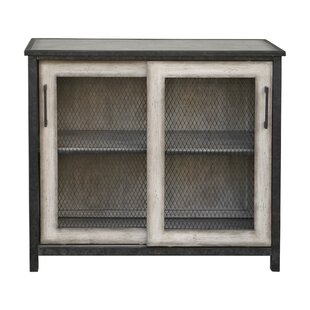Maris Wire Mesh 2 Door Accent Cabinet