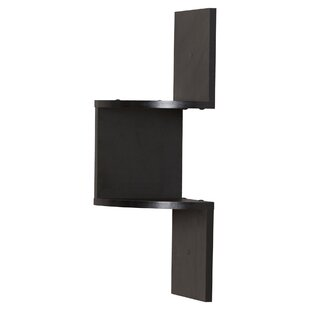 Schwartz Corner Wall Shelf In Black