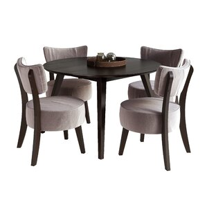 Predmore 5 Piece Dining Set by Brayden Studio