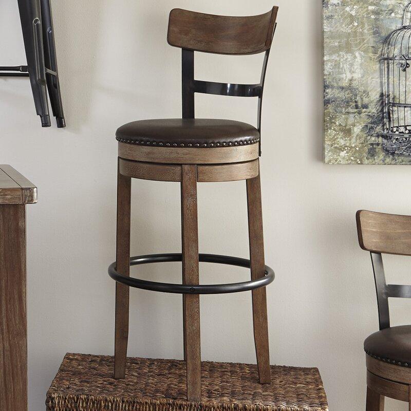 Swivel Bar Chair trent austin design empire swivel bar stool & reviews | wayfair