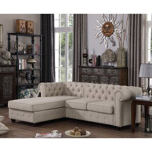 Garcia Reversible Stationary Sectional by Mulhouse Furniture