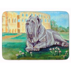 Neapolitan Mastiff Memory Foam Bath Rug