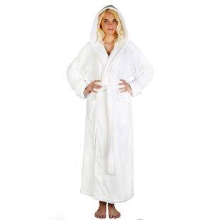 Bartow Women s Soft Twist 100% Cotton Terry Cloth Bathrobe af75dd16c