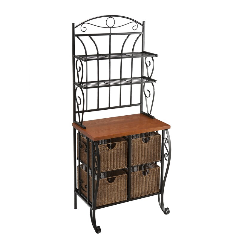 cast drawer small vintage rack iron adjustable bakers wood drawers racks with
