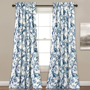 yellow and curtains cotton red style country blue vintage black pink drapes green polyester floral c