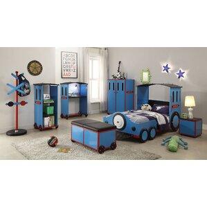 Tobi Twin Train Customizable Bedroom Set