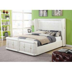 Jourdan Upholstery Panel Bed by Latitude Run