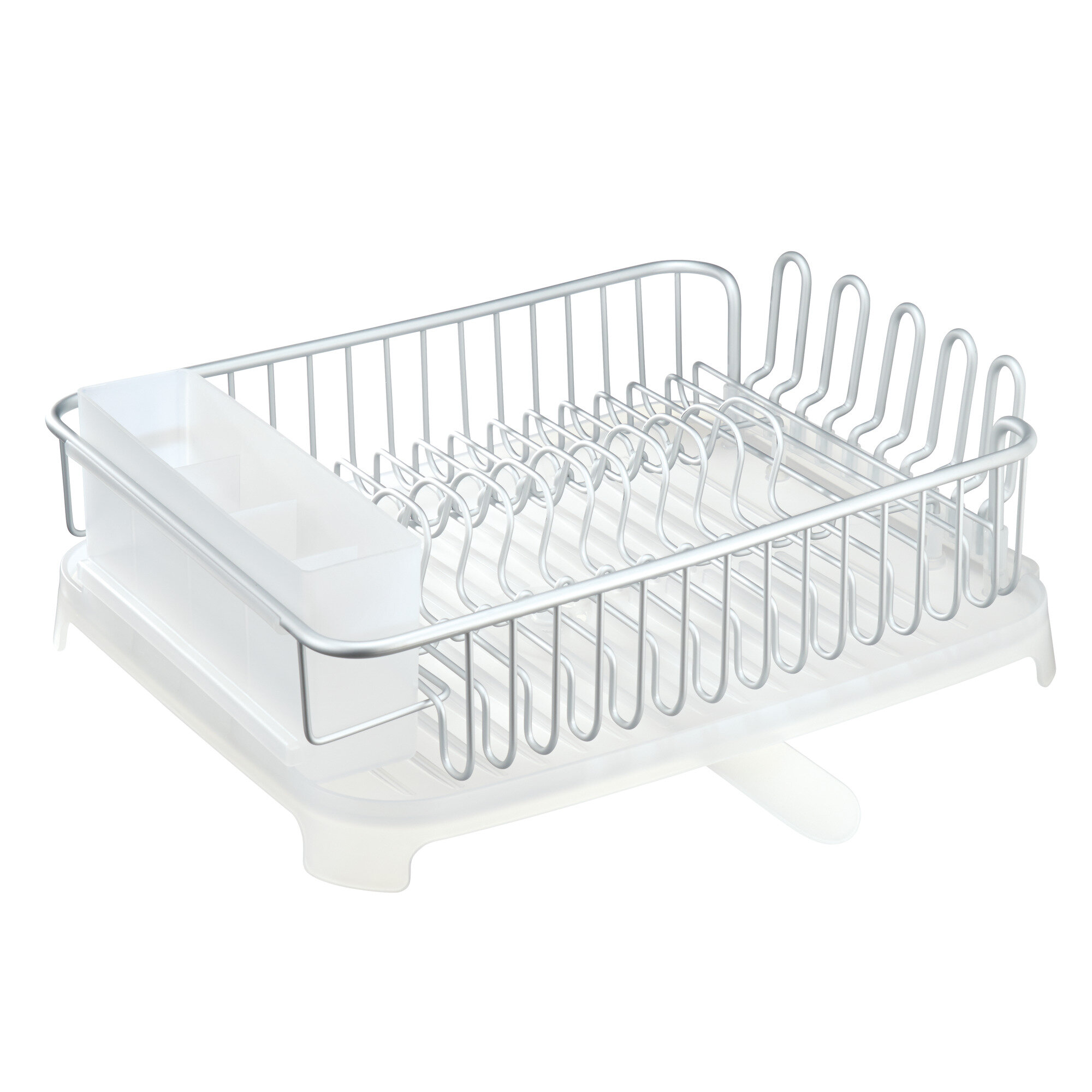 and shipping over cup garden draining orders dish with plastic white drain home overstock free utensil board on rack product