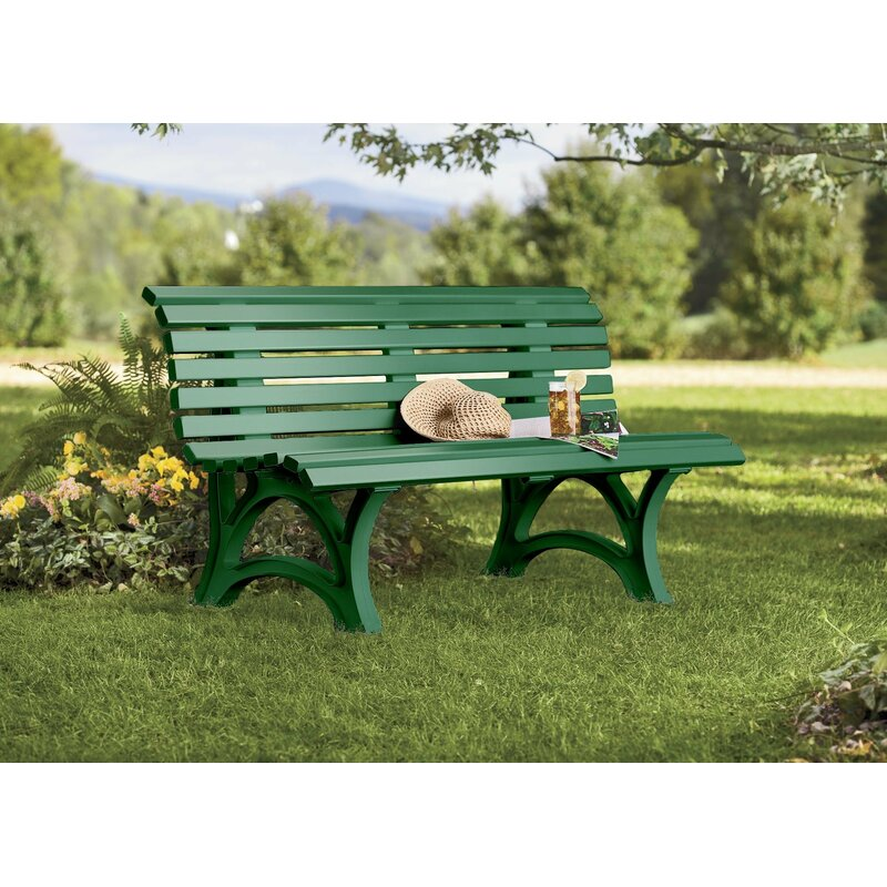 Plow Amp Hearth Weatherproof Resin Garden Bench Amp Reviews