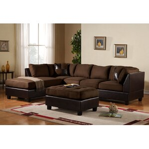 Captivating Georgetown Reversible Sectional Part 29