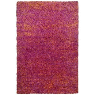 Young Fashion Handwoven Red/Pink Rug by Theko
