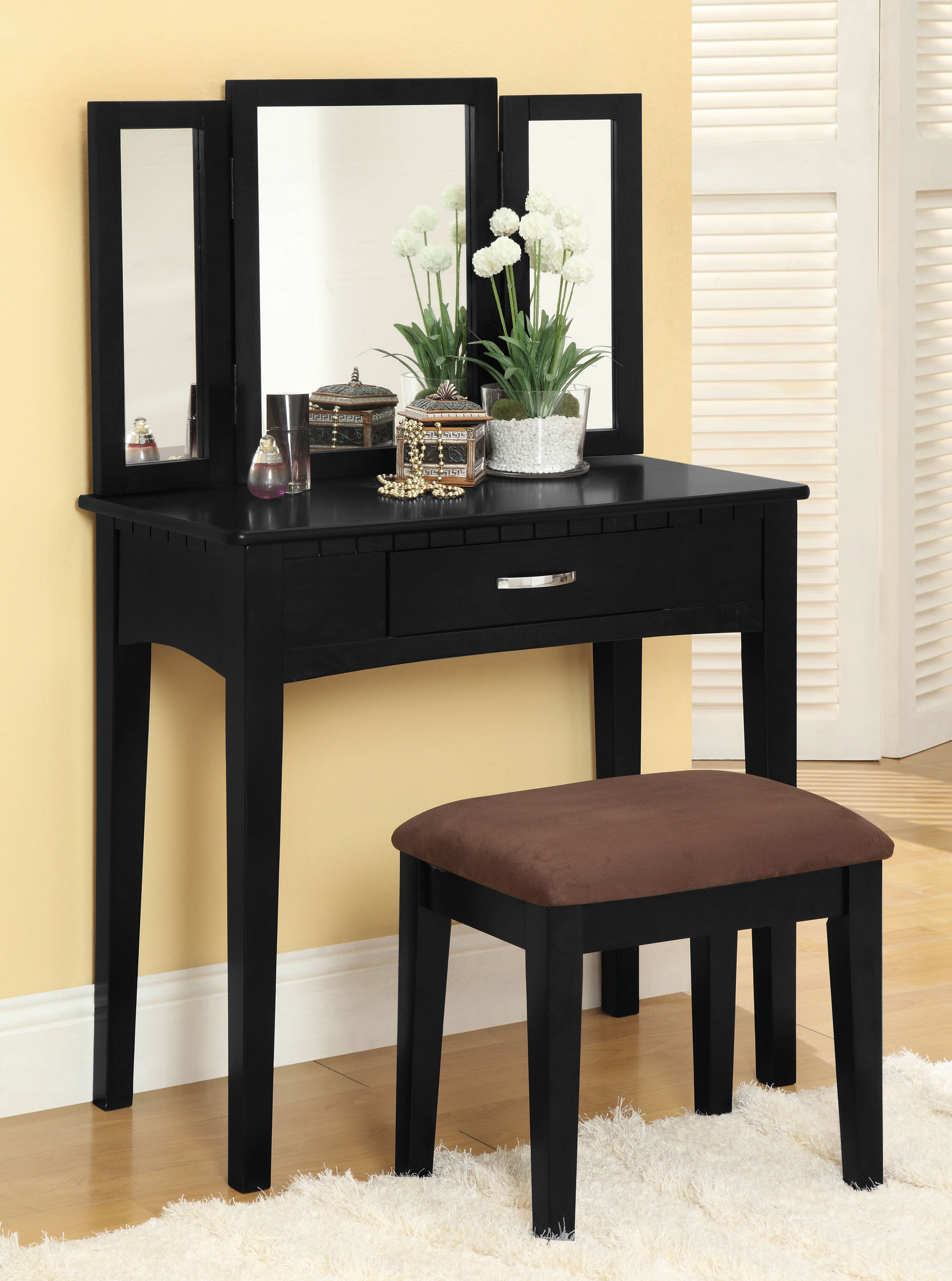Makeup Tables and Vanities You\'ll Love | Wayfair