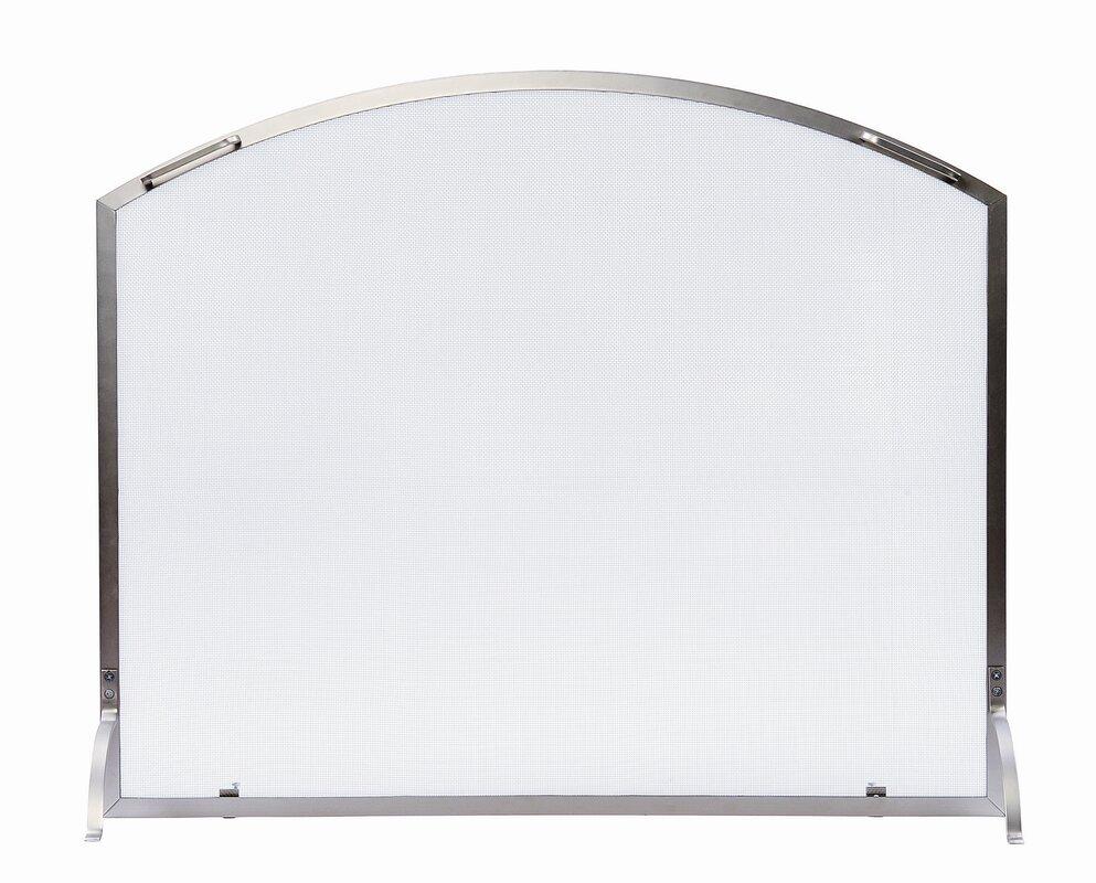 minuteman neoclassic wrought iron fireplace screen u0026 reviews wayfair