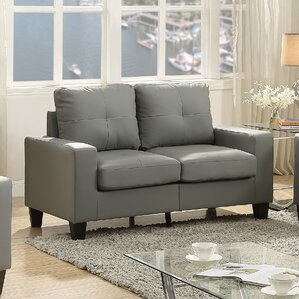 Tiff Modern Loveseat by La..