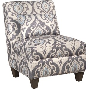 Mowbray Slate Large Slipper Chair by Bungalo..