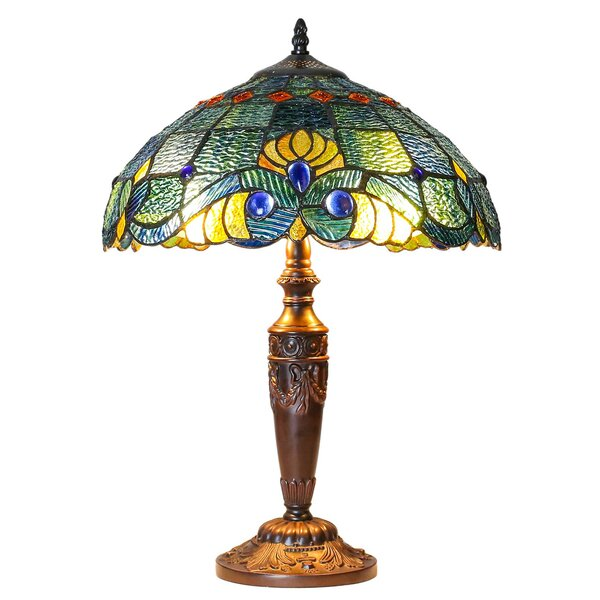 River Of Goods Swirling Shells Tiffany 20 50 Quot Table Lamp
