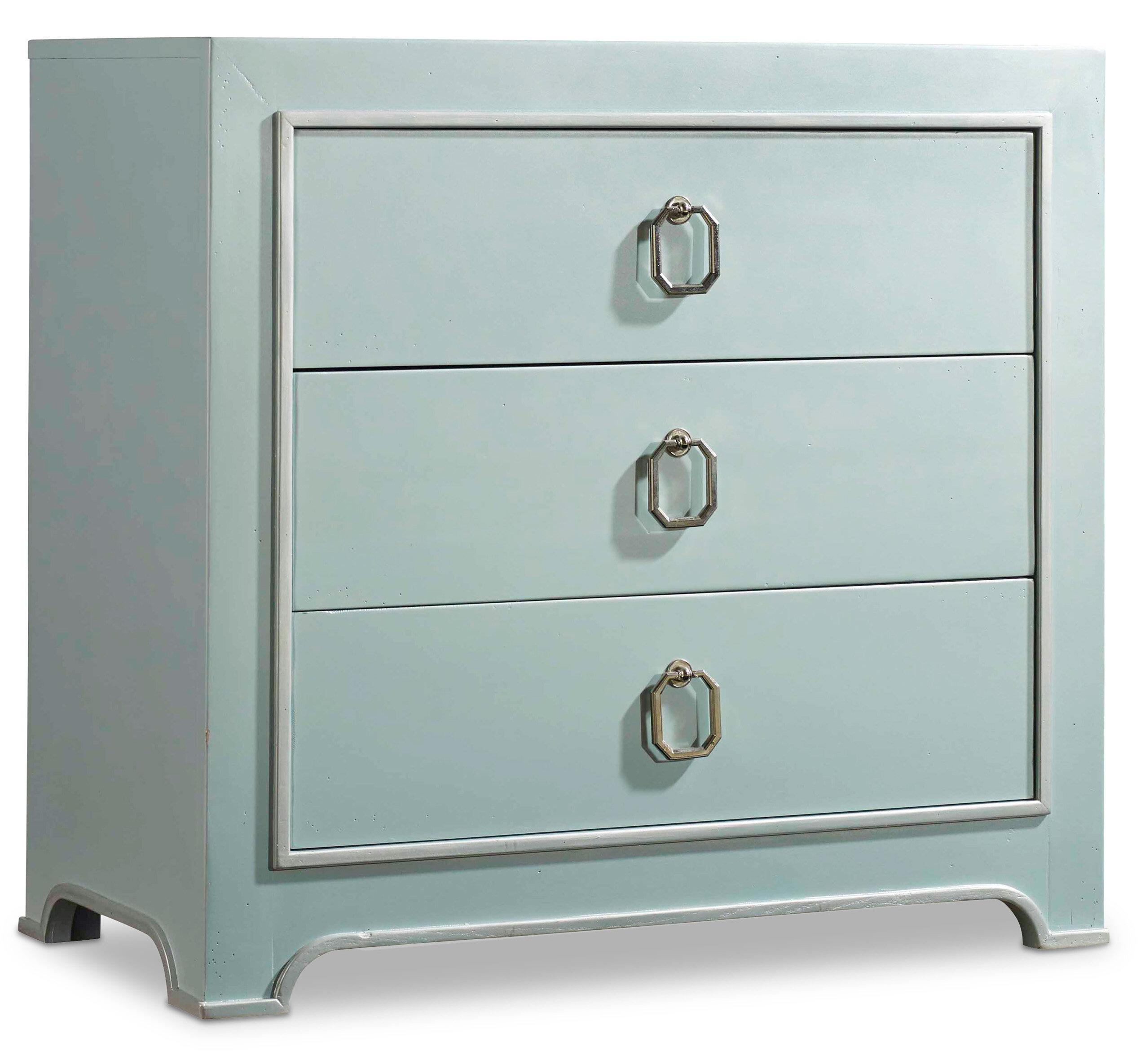 Hooker Furniture Melange Lia 3 Drawer Chest   Wayfair
