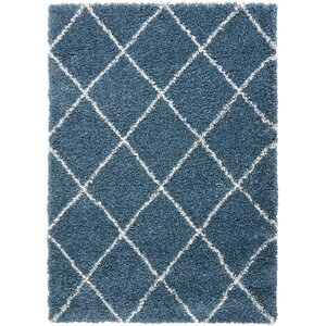 Puyallup River Slate Blue Area Rug