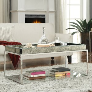 Ramillies Coffee Table with Tray Top by House of Hampton