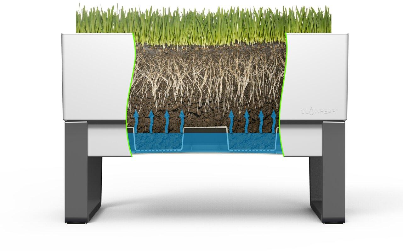 Self-Watering Plastic Planter Box