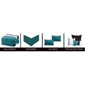 Hunnicutt 7 Piece Comforter Set