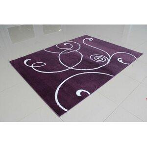 Markel Purple Area Rug