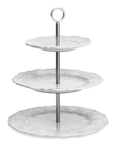 Merletto 3 Tiered Cake Stand