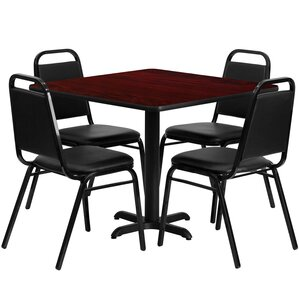 Twila 5 Piece Dining Set by Red Barrel St..