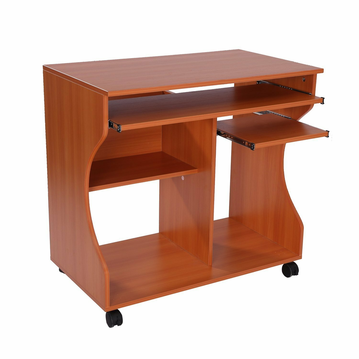 loft workspace caretta small cherry shelf this desk computer for products