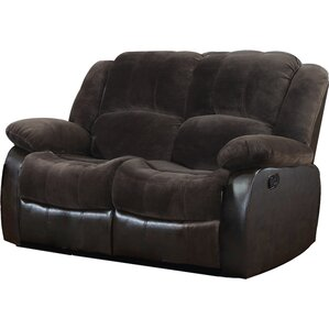 Aiden Motion Leather Reclining Loveseat by Nathaniel Home