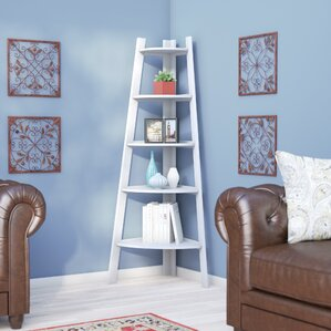 caitlyn corner unit bookcase