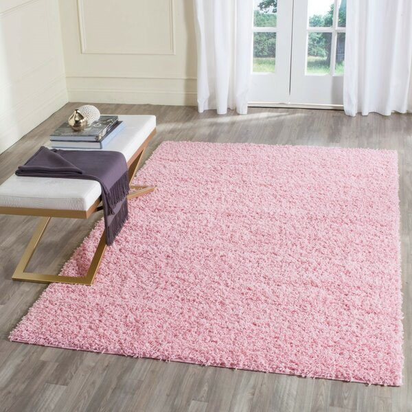 Willa Arlo Interiors One-of-a-Kind Cheney Hand Woven Pink Area Rug ...