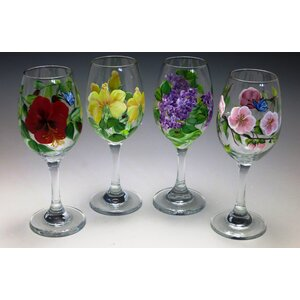 Let's Toast Wine Glass (Set of 4)