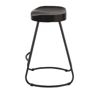 Farmhouse Saddle Counter Bar Stool (Set of 2) by Erik C