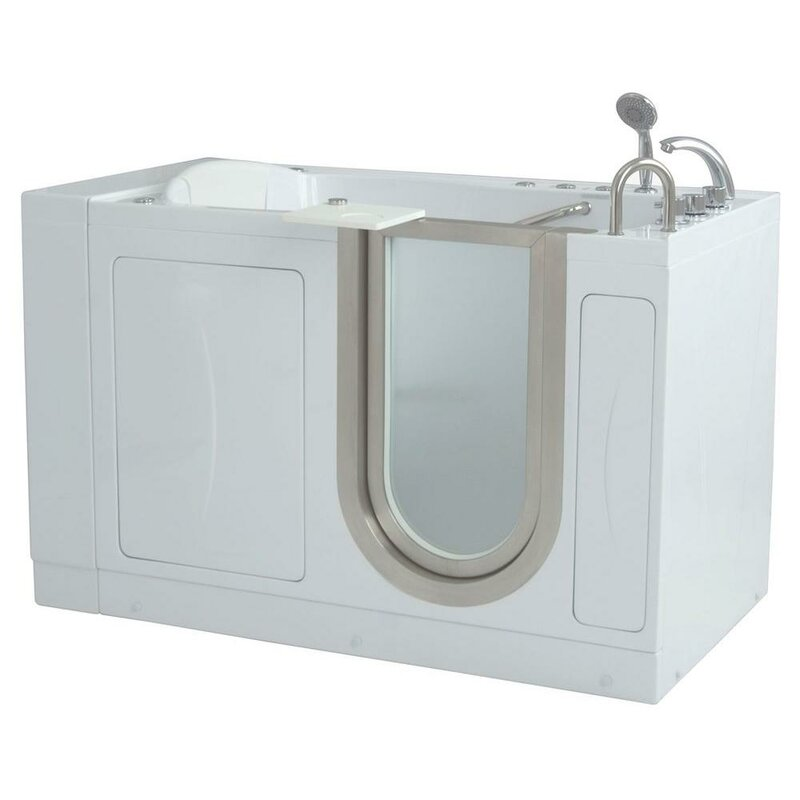 Ella walk in bath royal 52 x 32 massage whirlpool walk for Royal whirlpool baths