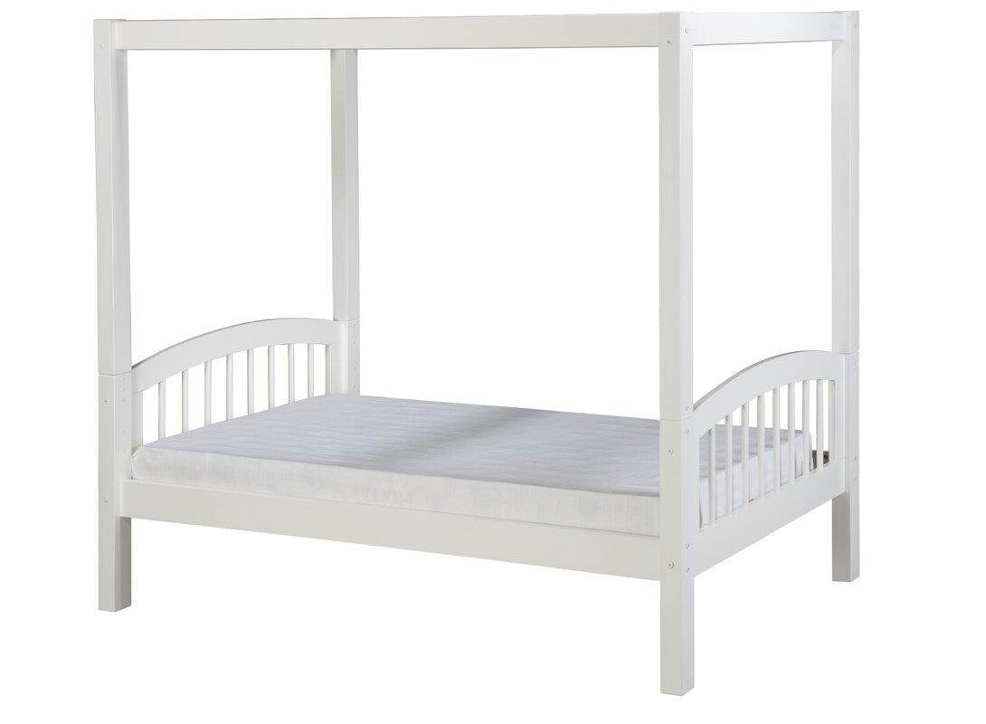 Isabelle Twin Canopy Bed  sc 1 st  Wayfair & Viv + Rae Isabelle Twin Canopy Bed u0026 Reviews | Wayfair