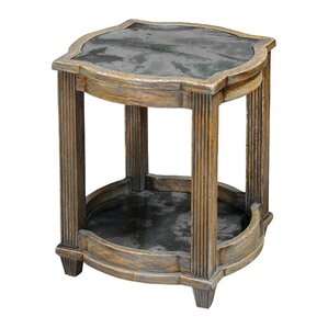 Claridge End Table by Astoria Grand