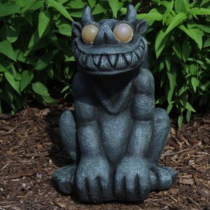 Gargoyle LED Light-Up Statue
