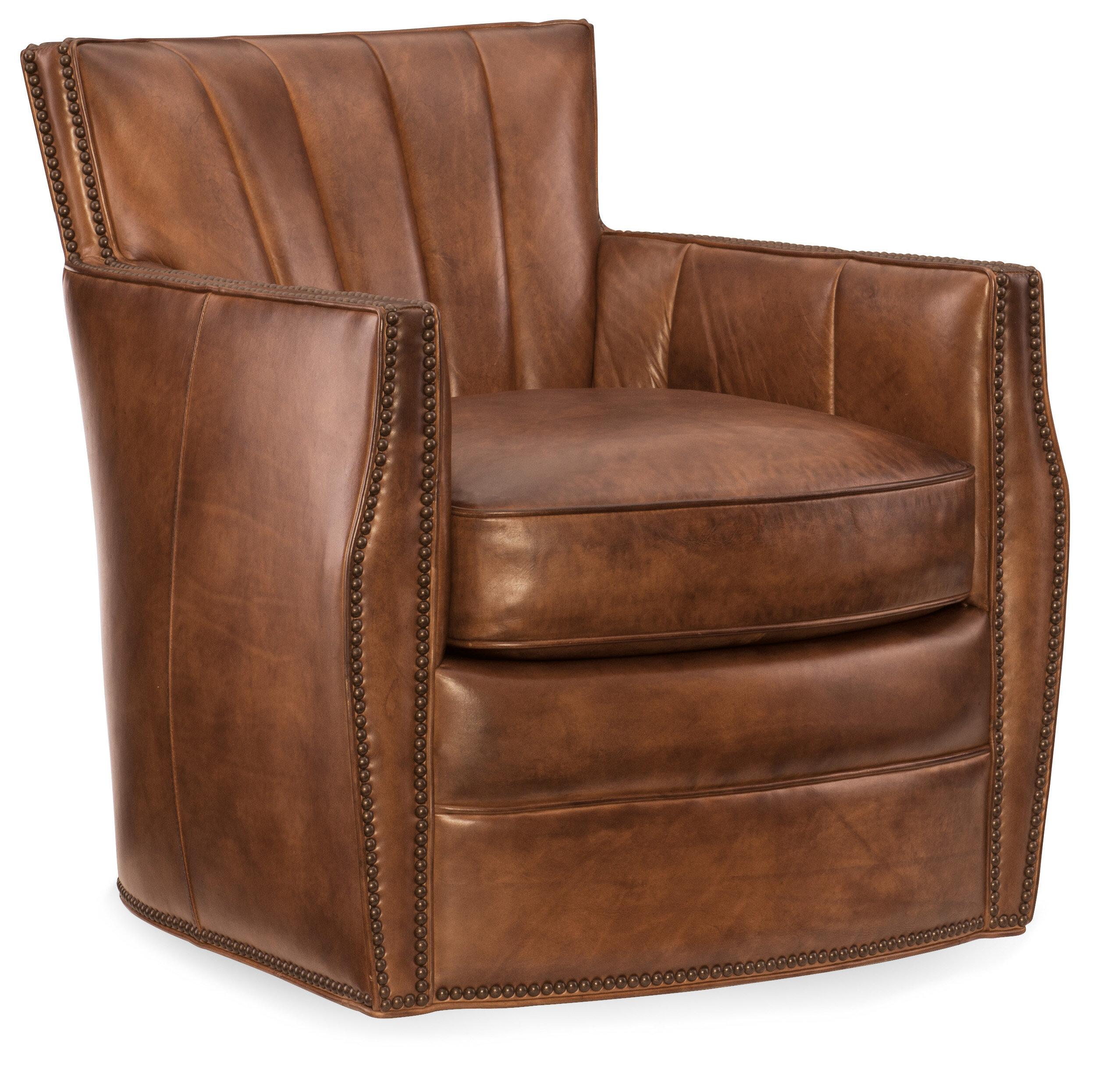 Hooker Furniture Carson Swivel Club Chair & Reviews | Wayfair