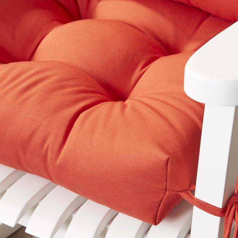Wayfair Basics Indoor/Outdoor 2 Piece Rocking Chair Cushion Set