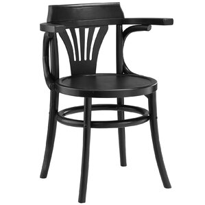 Stretch Solid Wood Dining Chair by Modway
