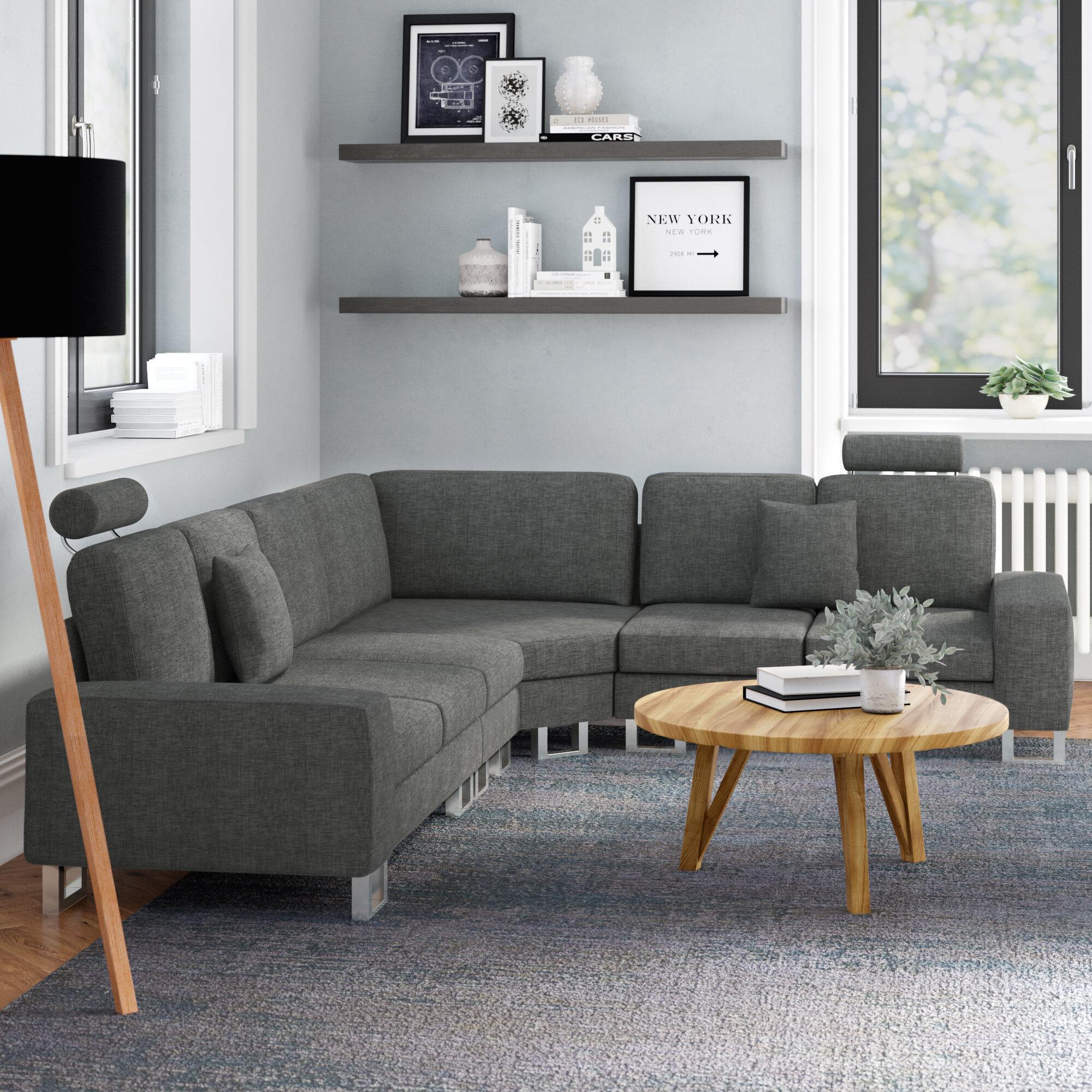 Home & Haus Stockholm Modular Corner Sofa & Reviews   Wayfair.co.uk