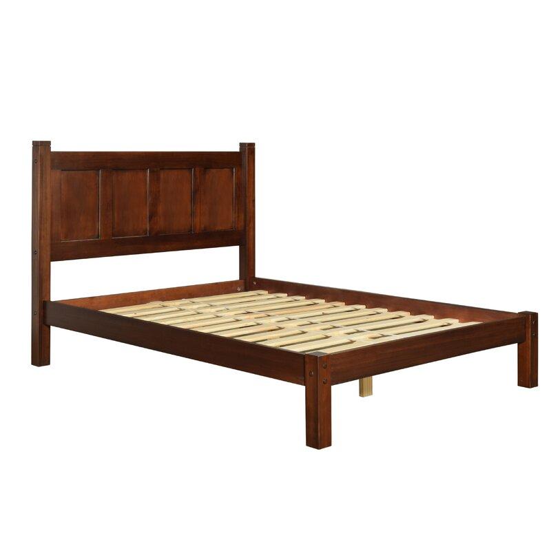 Contemporary Shaker Full Size Platform Bed