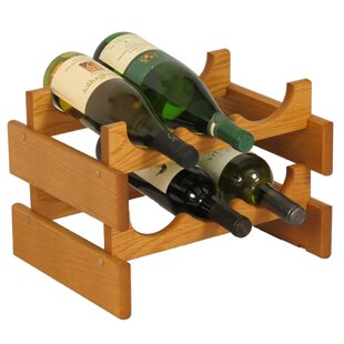 Dakota 6 Bottle Tabletop Wine Rack