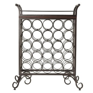 Silvano 25 Bottle Floor Wine Rack