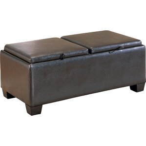 Belmont Cocktail Ottoman by Wo..