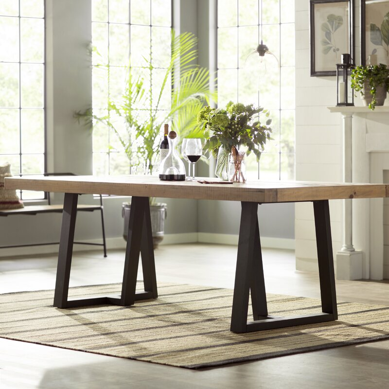 Gracie Oaks T J Dining Table Amp Reviews Wayfair