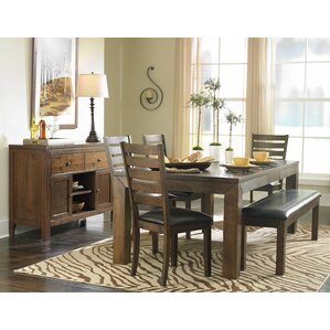 Bourg 6 Piece Dining Table Set by Loon Peak