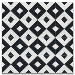 Jadida 8 X Cement Tile In Black And White