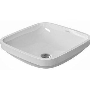 square bathroom sinks. DuraStyle Ceramic Square Undermount Bathroom Sink with Overflow Modern Sinks  AllModern